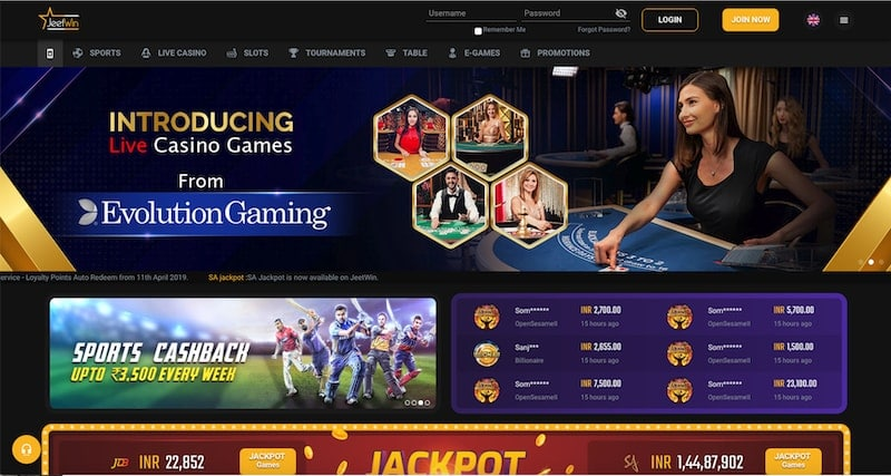 Jeetwin Casino Review