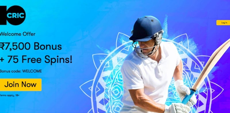10Cric Betting Offer