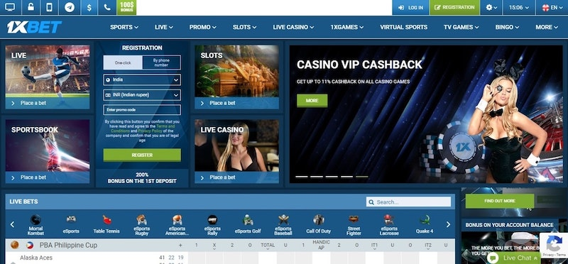 1xBet Review India