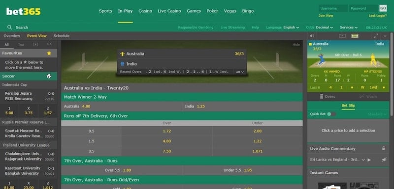 IPL Live Betting