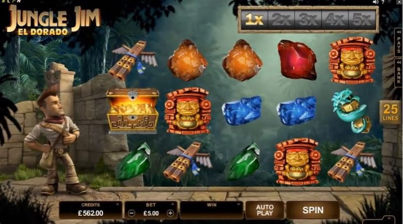 Jungle Jim Online Slot