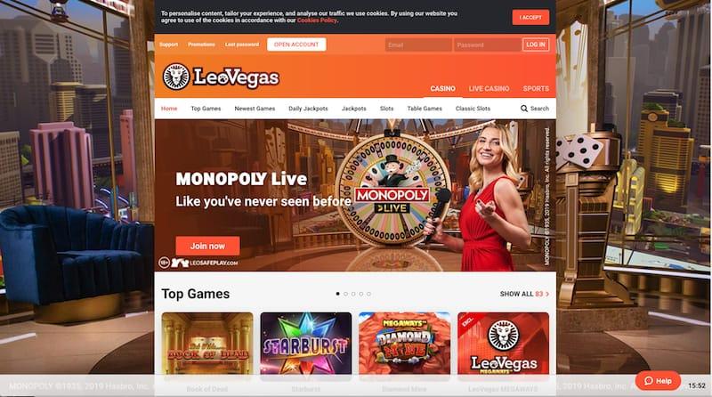 LeoVegas Casino Review India
