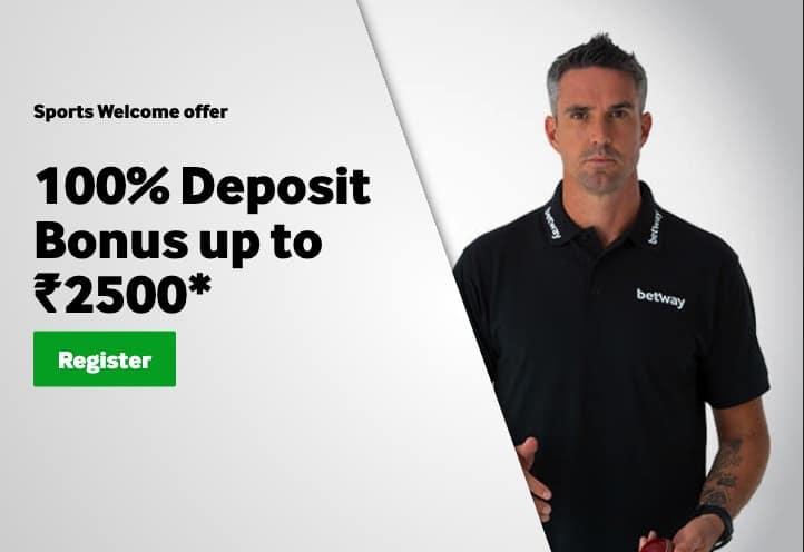 Betway Sports Welcome Bonus