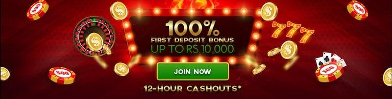 ShowLion 100% Deposit Bonus