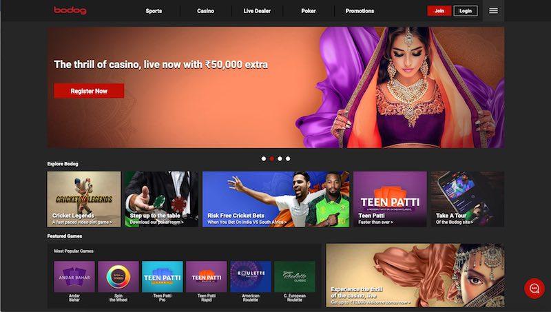 Bodog Casino India Review