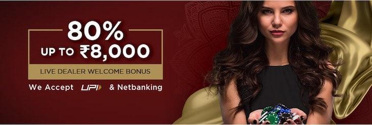 Bodog Live Casino Welcome Bonus
