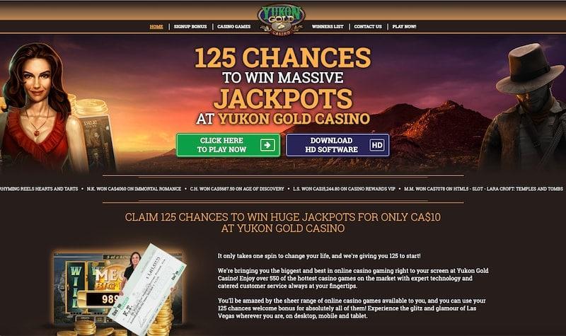 Yukon Gold Casino India Review