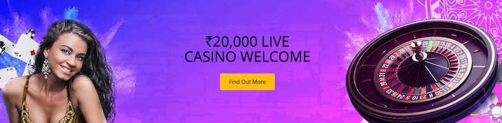 10Cric Live Casino Welcome Bonus