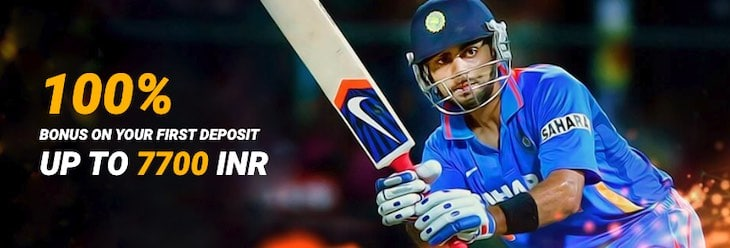 Melbet Sports Welcome Bonus - 100% bonus on your first deposits up to ₹7700