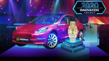 Win a Tesla 3 on Dafabet