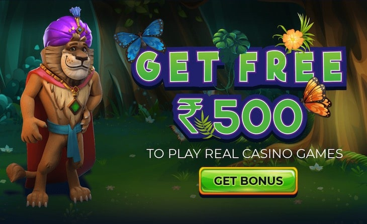 JungleRaja 500 INR Free Welcome Bonus