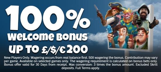 Mr Mobi Casino Welcome Bonus