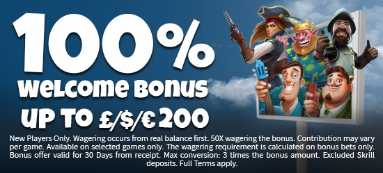 MrSlot Casino Welcome Bonus
