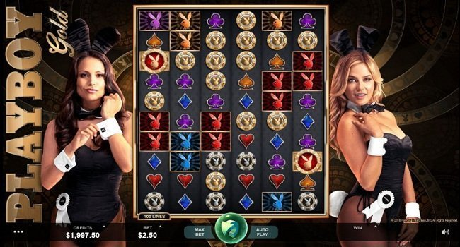 Playboy Microgaming Slots