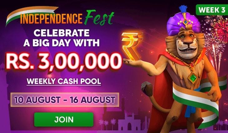 Celebrate Indian Independence Day on JungleRaja