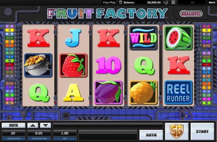 Fruit Factory Slot