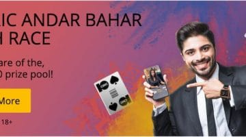 10CRIC Andar Bahar Cash Race