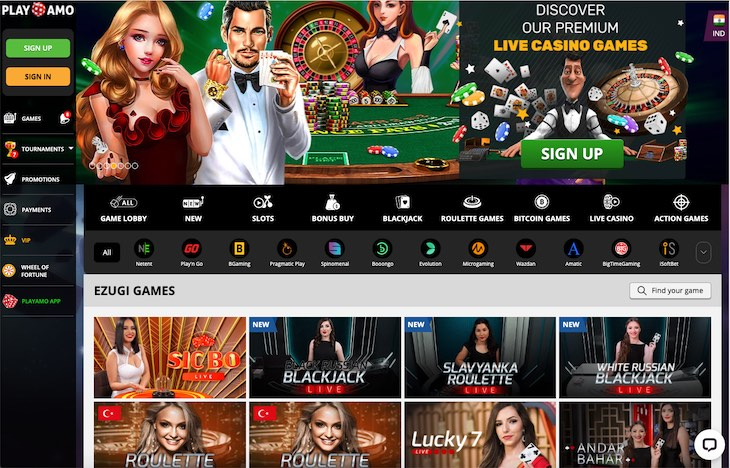 Pokies online casino