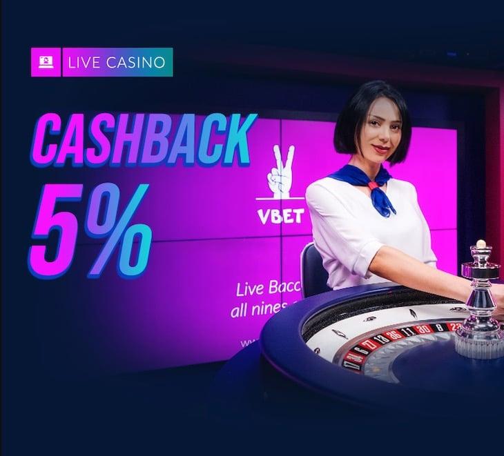 VBET Cashback