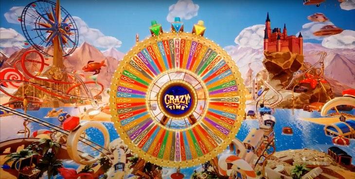 Crazy Time Bonus Wheel