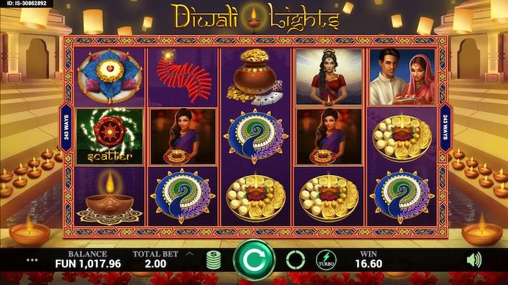 Diwali Lights Slot