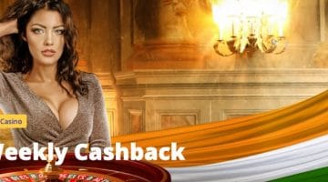 Get 10% Cashback on Live Casino Every Weekend