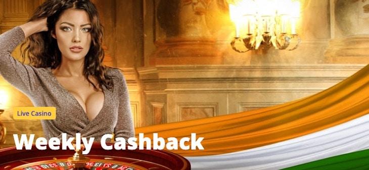 Casino Days Weekly Cashback