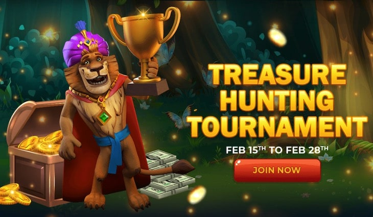 Treasure Hunting Tournament JungleRaja