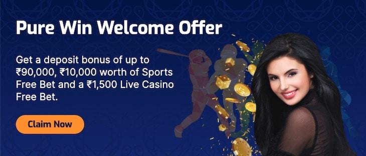 Pure Win Casino Welcome Bonus