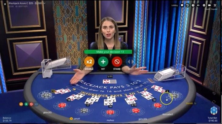 how to play blackjack azure step 2