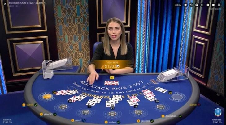 how to play blackjack azure step 3